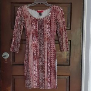 Size small long sleeve dress multiple colora